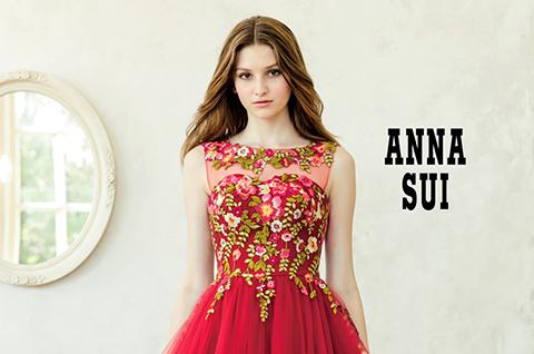 9925ec2346dcf ANNA SUI|ブランド|オシャレでこだわり、個性的なウェディングドレス、カラードレス、タキシードレンタルならドレスショップブランシェ