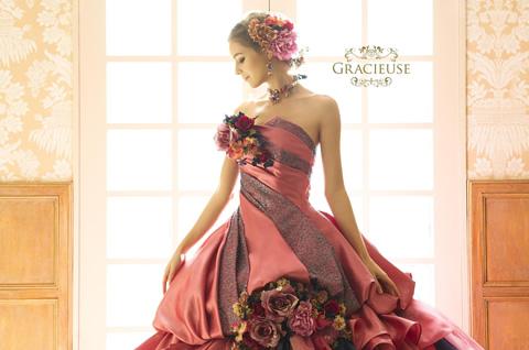 GRACIEUSE|ブランド|オシャレでこだわり、個性的なウェディングドレス、カラードレス、タキシードレンタルならドレスショップブランシェ